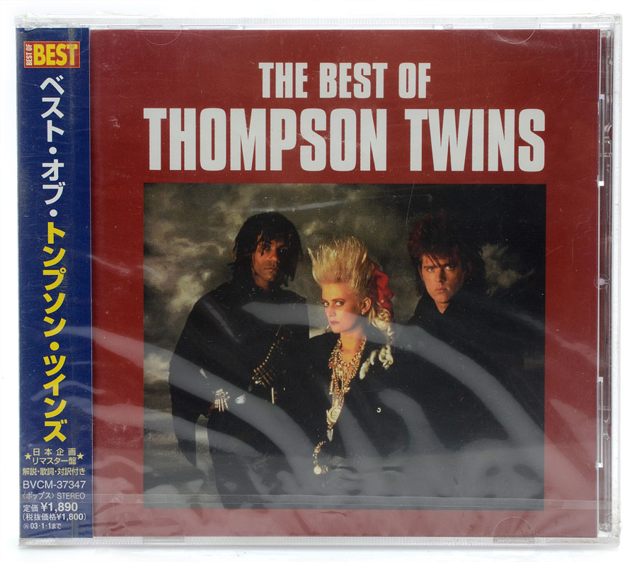 CD The Best Of Thompson Twins - Importado Japão - Lacrado