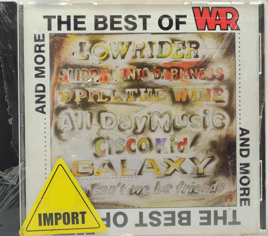 Cd The Best Of War... And More - Lacrado - Importado