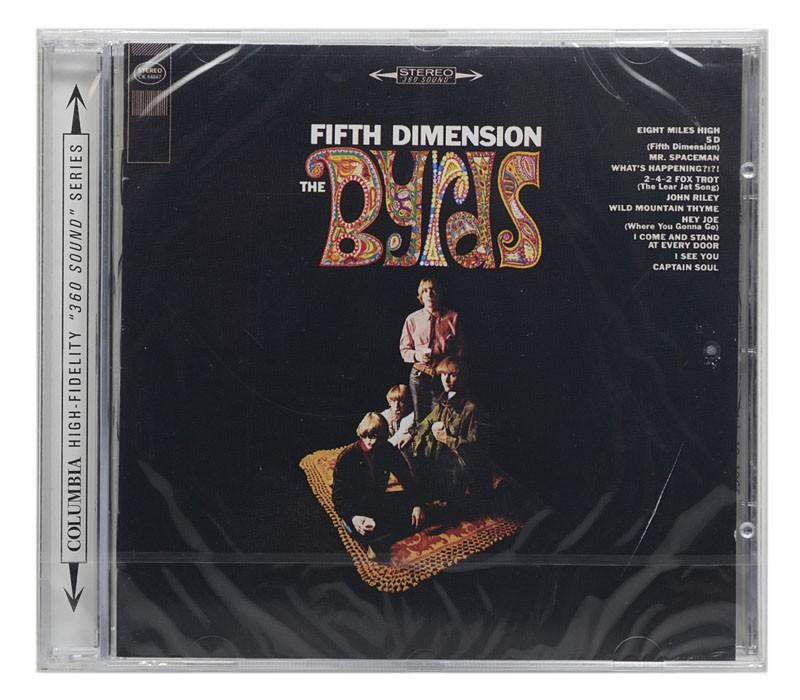 CD The Byrds - Fifth Dimension - Importado - Lacrado