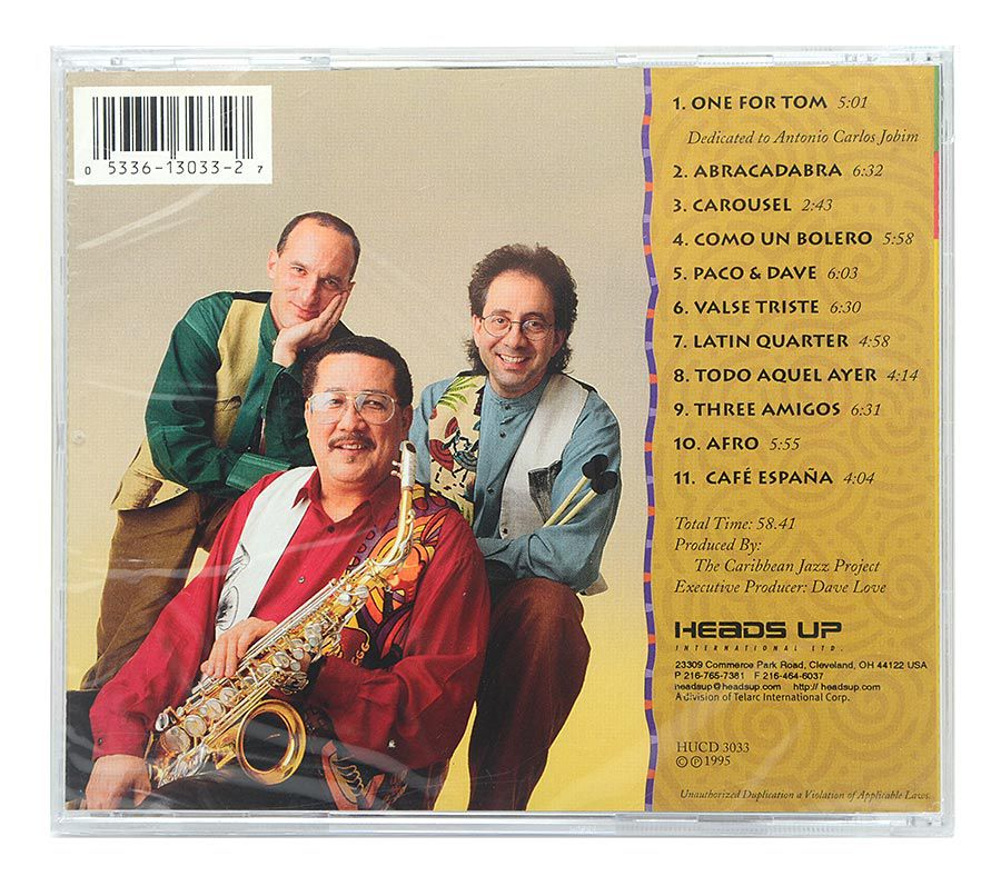 Cd The Caribbean Jazz Project - Dave Samuels / Paquito D'Rivera / Andy Narell - Importado - Lacrado