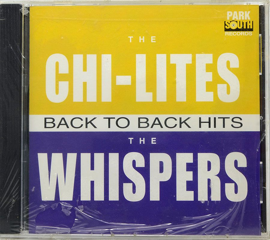 CD The Chi-Lites Back To Back Hits - The Whispers - Lacrado - Importado