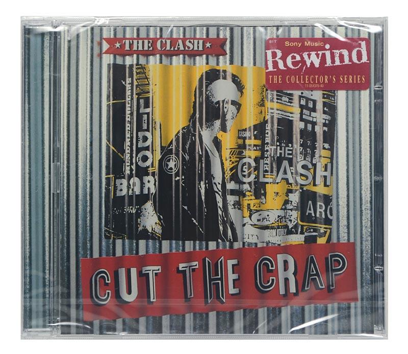 CD The Clash - Cut the Crap - Importado - Lacrado