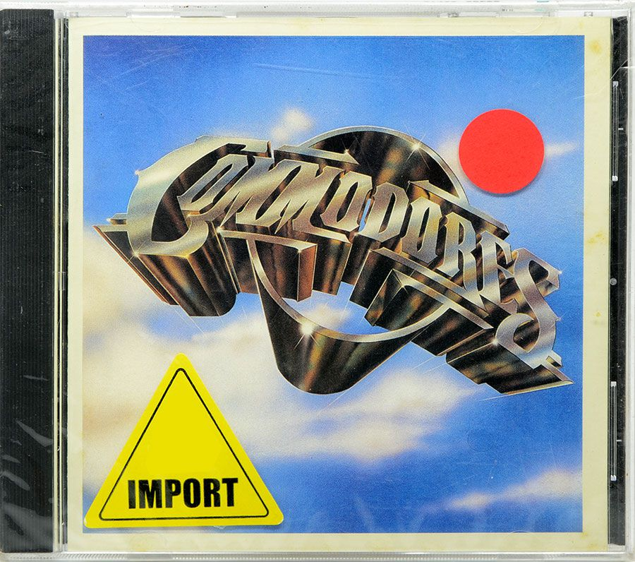 CD The Commodores - Commodores - Lacrado - Importado