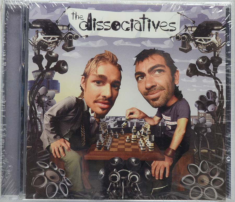 Cd The Dissociatives - The Dissociatives - Lacrado - Importado