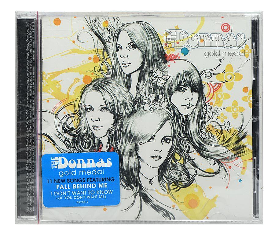 CD The Donnas - Gold Medal - Importado - Lacrado