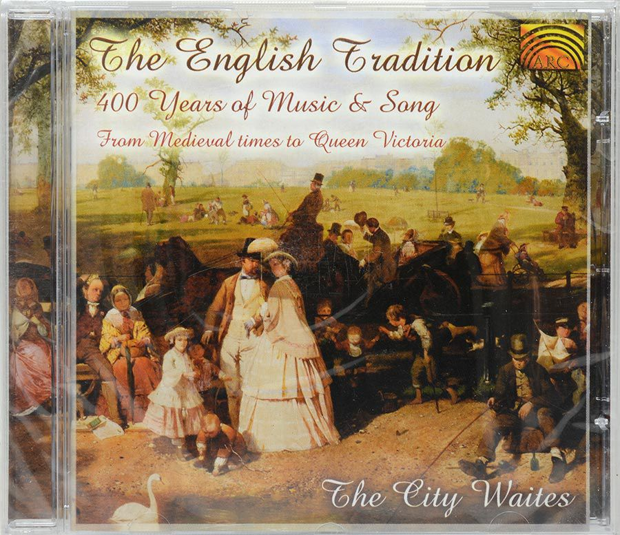 CD The English Tradition 400 Years Of Music & Song - Lacrado - Importado