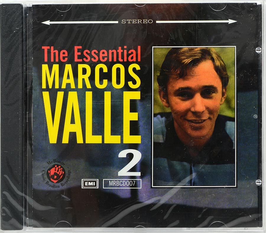 CD The Essential Marcos Valle Vol 2 - Lacrado - Importado