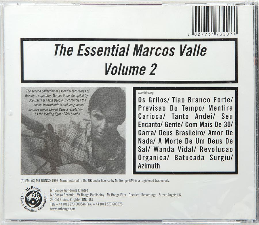 CD The Essential Marcos Valle Vol 2 - Lacrado - Importado
