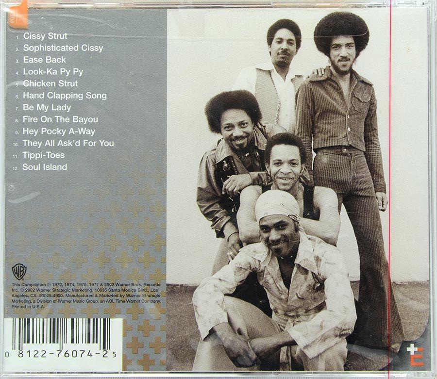 CD The Essentials - The Meters - Lacrado - Importado