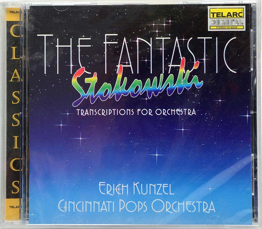 Cd The Fantastic Stokowski - Transcriptions For Orchestra - Lacrado - Importado