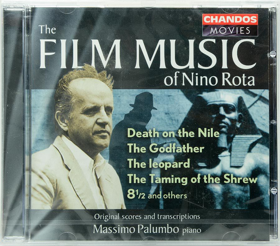 CD The Film Music Of Nino Rota - Lacrado - Importado