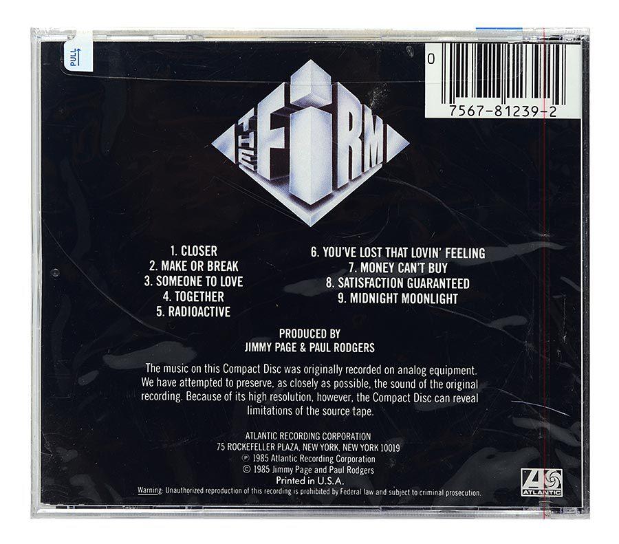 CD The Firm - The Firm - Importado - Lacrado
