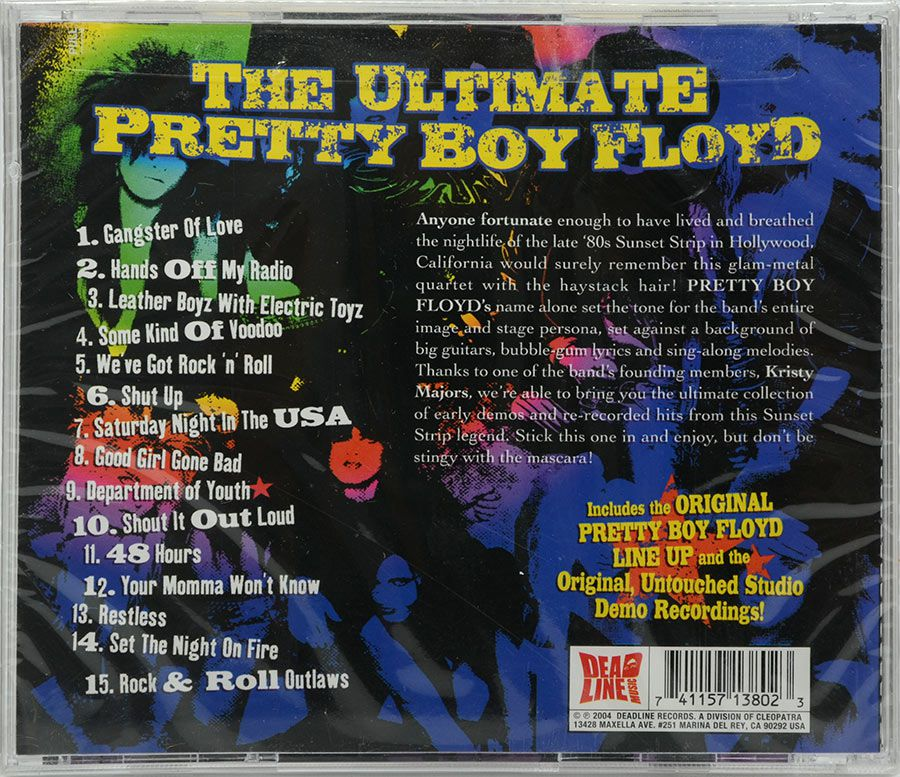 CD The Greatest Collection The Ultimate Pretty Boy Floyd - Lacrado - Importado