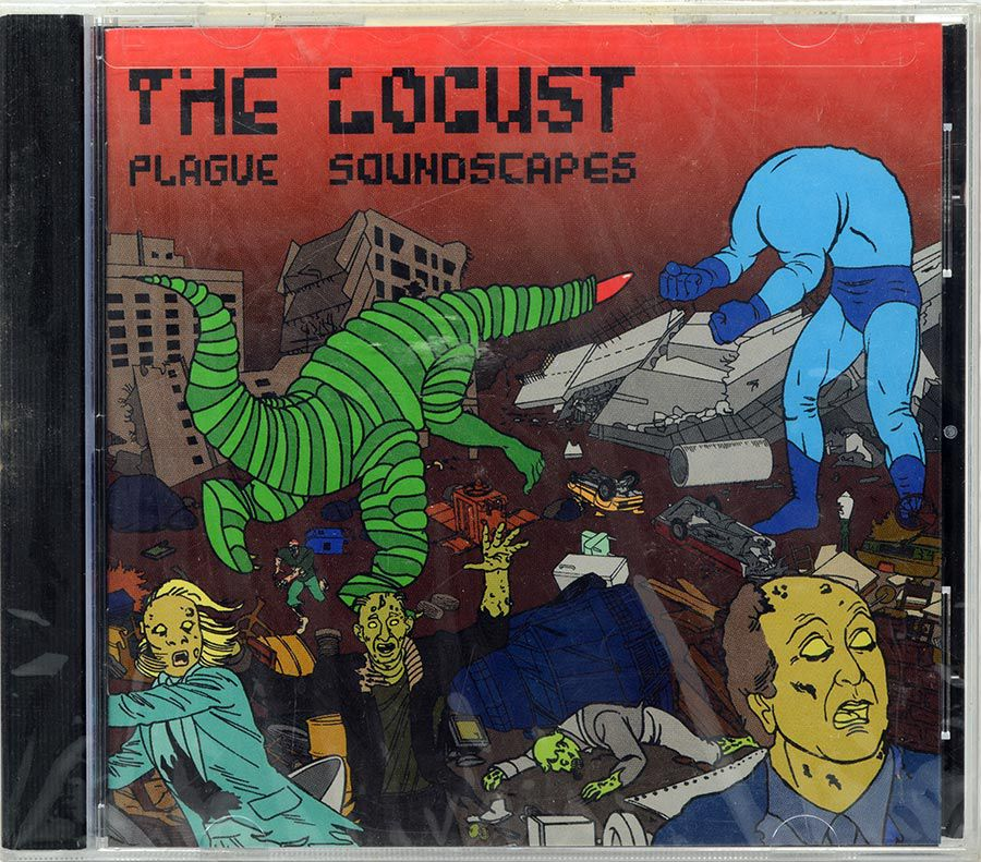 CD The Locust - Plague Soundscapes - Lacrado - Importado