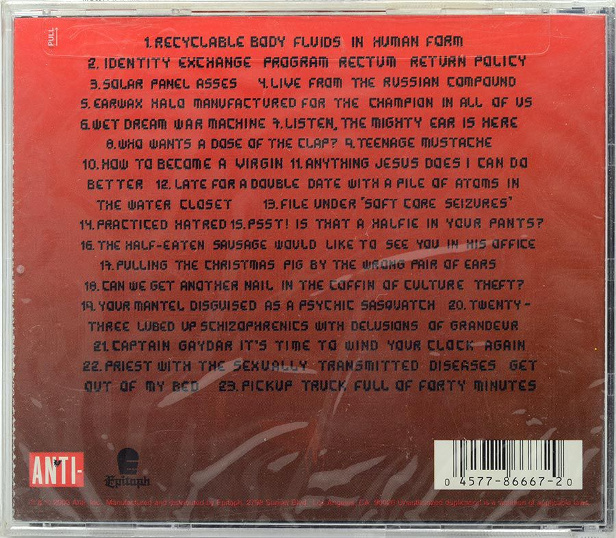 CD The Locust - Plague Soundscapes - Lacrado - Importado