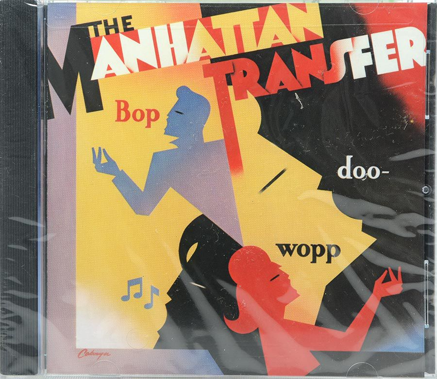 Cd The Manhattan Transfer - Bop Doo-Wopp - Lacrado - Importado