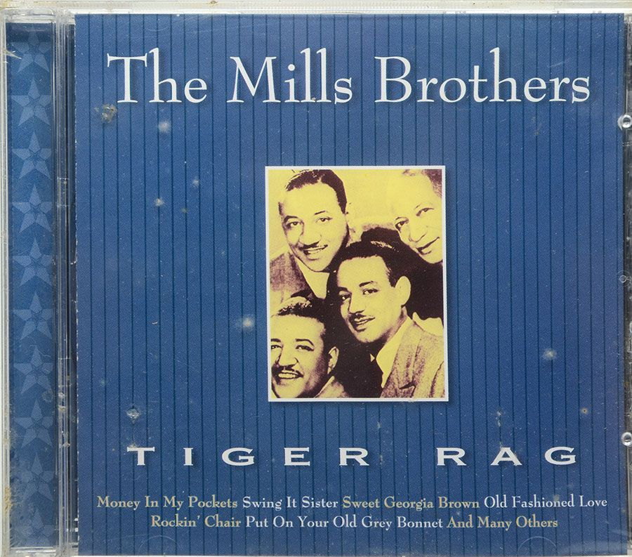 Cd The Mills Brothers - Tiger Rag - Lacrado - Importado