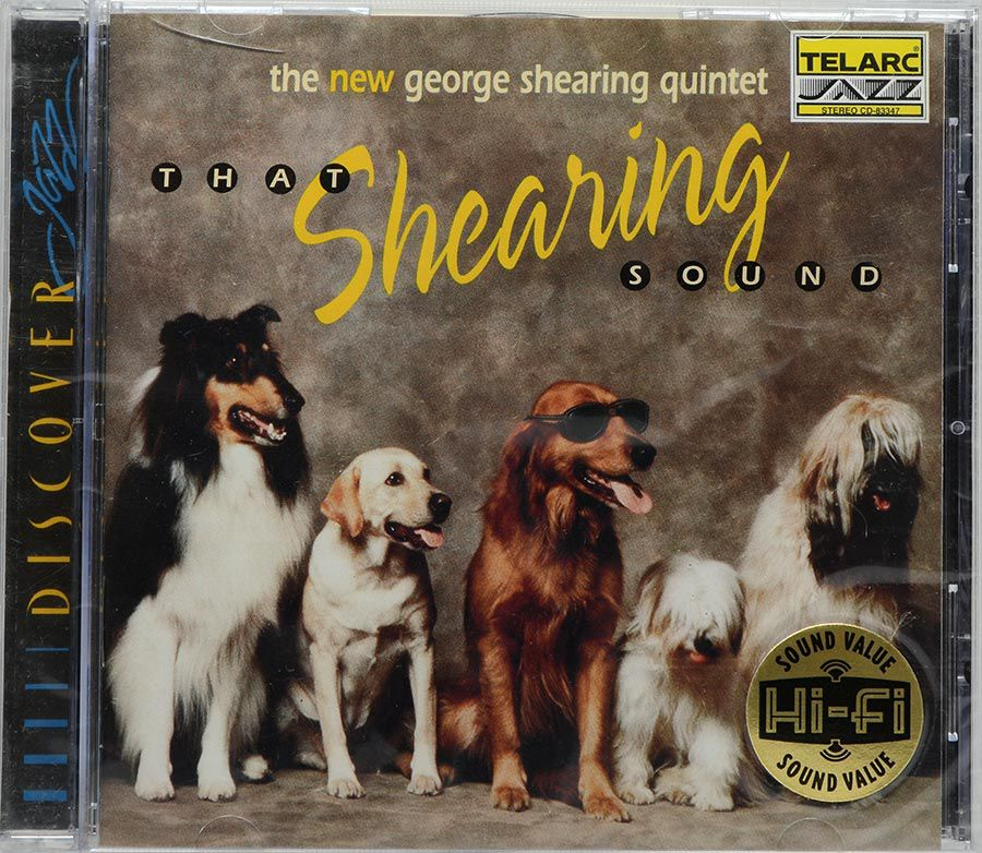 CD The New George Shearing Quintet - That Shearing Sound - Lacrado - Importado