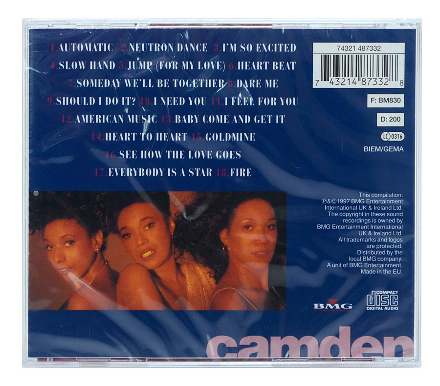 CD The Pointer Sisters - Greatest Hits - Importado - Lacrado