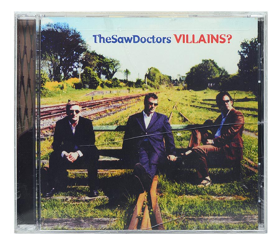 CD The Saw Doctors - Villains - Importado - Lacrado