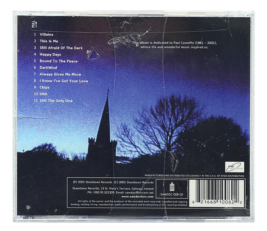 CD The Saw Doctors - Villains - Importado - Lacrado