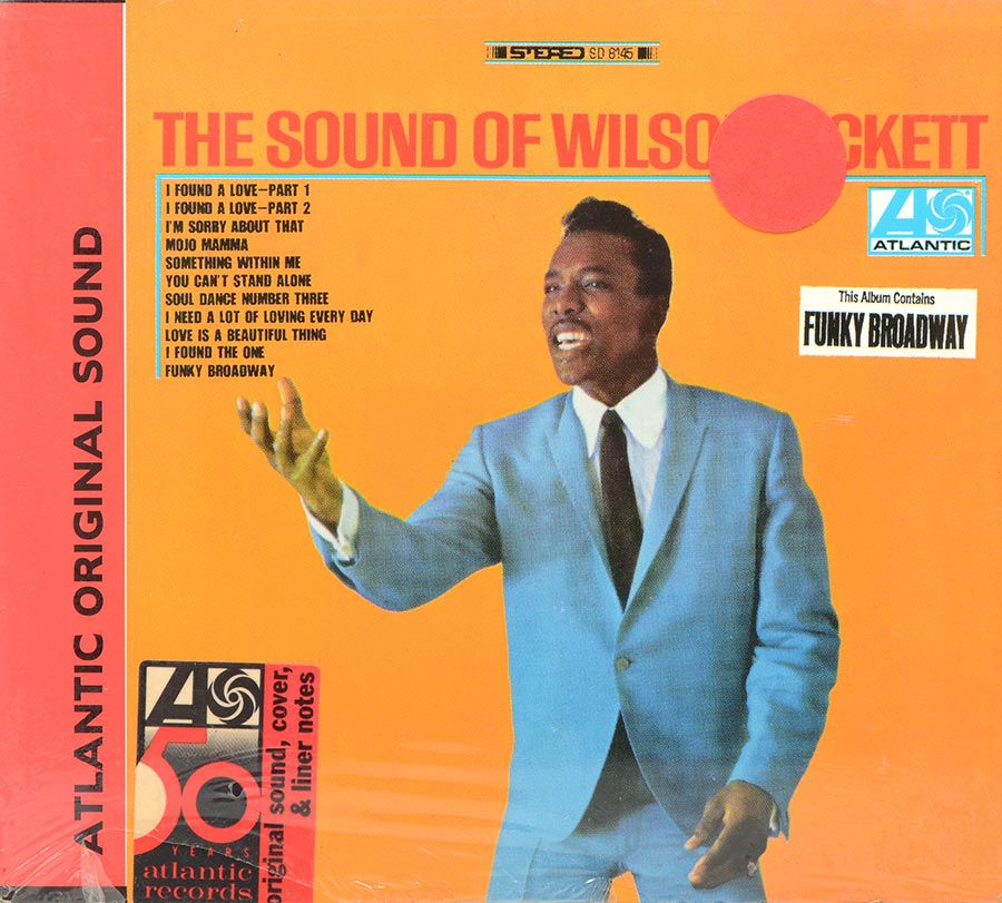 Cd The Sound Of Wilson Pickett - Lacrado - Importado