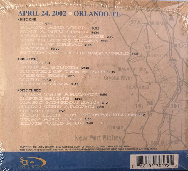 CD The String Cheese Incident - On the Road: 04-24-02 Orlando, FL - Importado - Lacrado