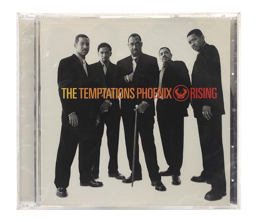 Cd The Temptations - Phoenix Rising - Importado - Lacrado