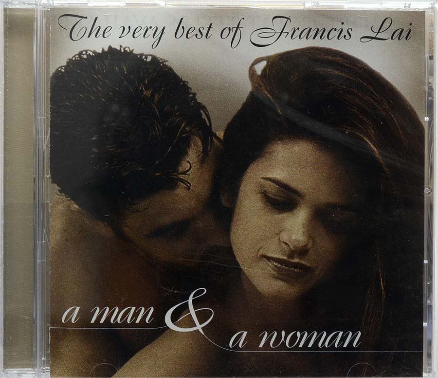 Cd The Very Best Of Francis Lai - A Man & A Woman - Lacrado - Importado