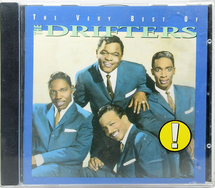 CD The Very Best Of The Drifters - Lacrado - Importado