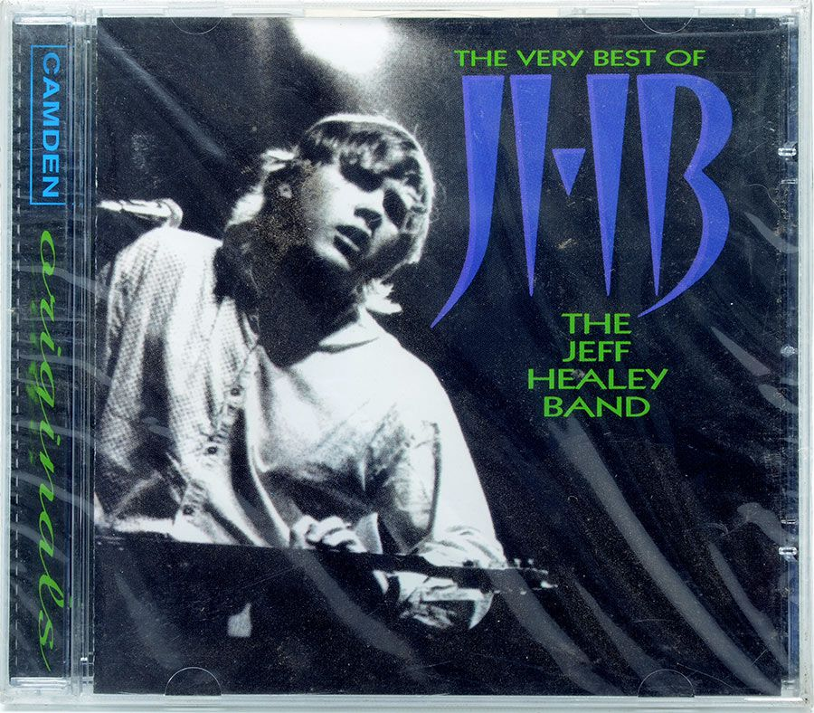 CD The Very Best Of The Jeff Healey Band - Lacrado - Importado