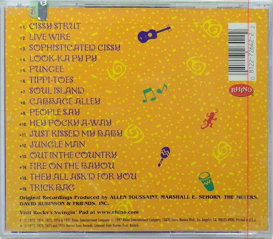 CD The Very Best Of The Meters - Lacrado - Importado