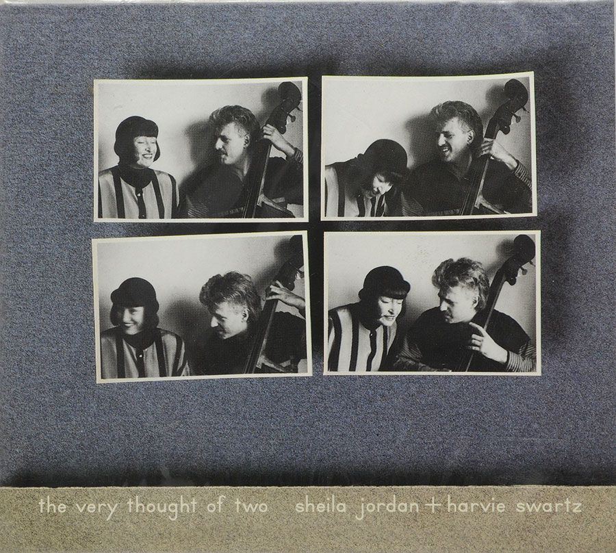 CD The Very Thought Of Two - Sheila Jordan + Harvie Swartz - Lacrado - Importado