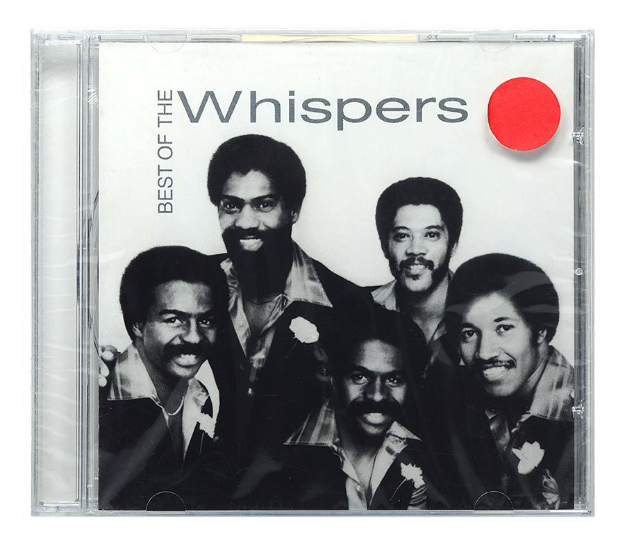 CD The Whispers - Best Of The Whispers - Importado - Lacrado
