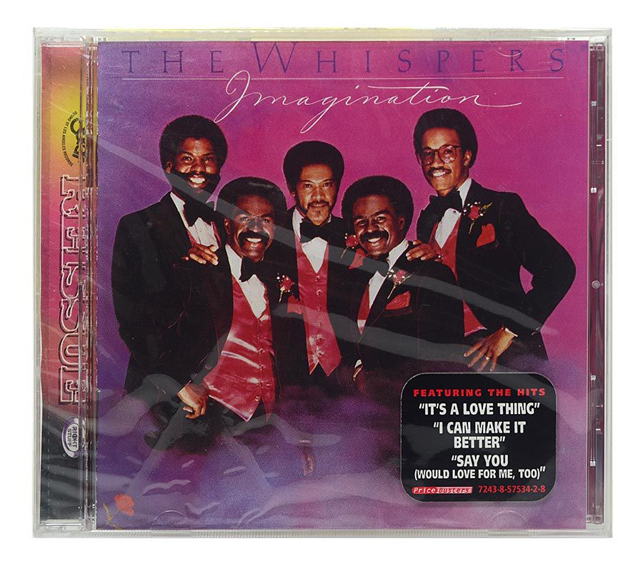 CD The Whispers - Imagination - Importado - Lacrado