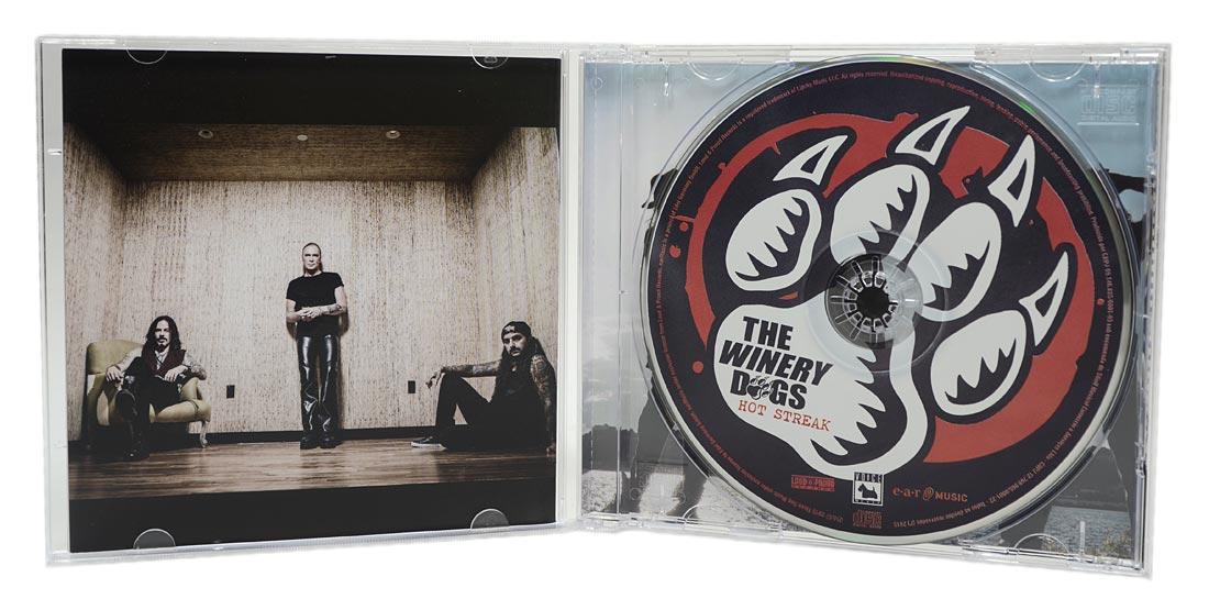 CD The Winery Dogs - Hot Streake - Lacrado