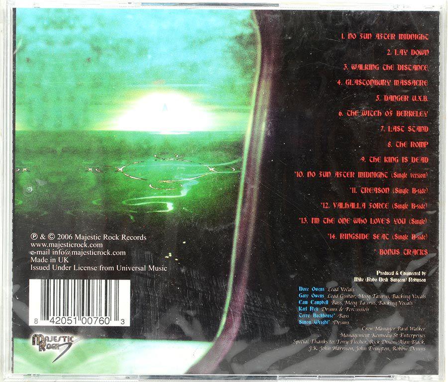 Cd The Witch Of Berkeley - A II Z  - Lacrado - Importado