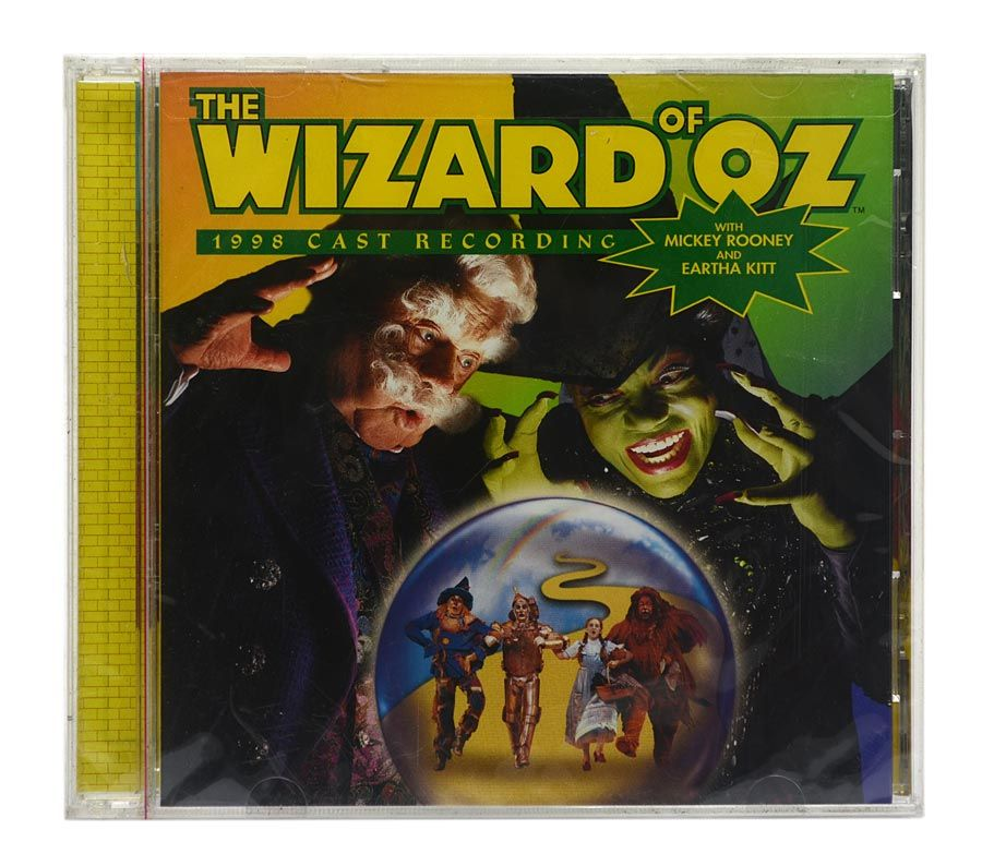 CD The Wizard Of Oz - 1998 Cast Recording - Importado - Lacrado