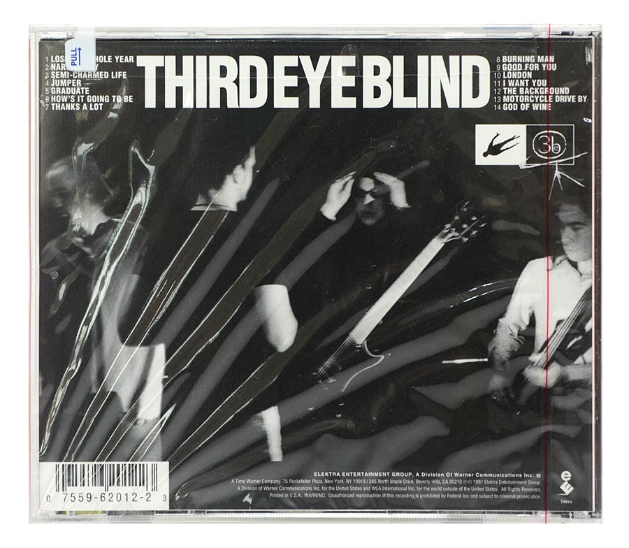 CD Third Eye Blind - Third Eye Blind - Importado - Lacrado