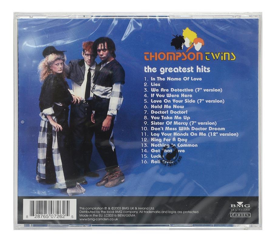 CD Thompson Twins - The Gratest Hits - Importado - Lacrado