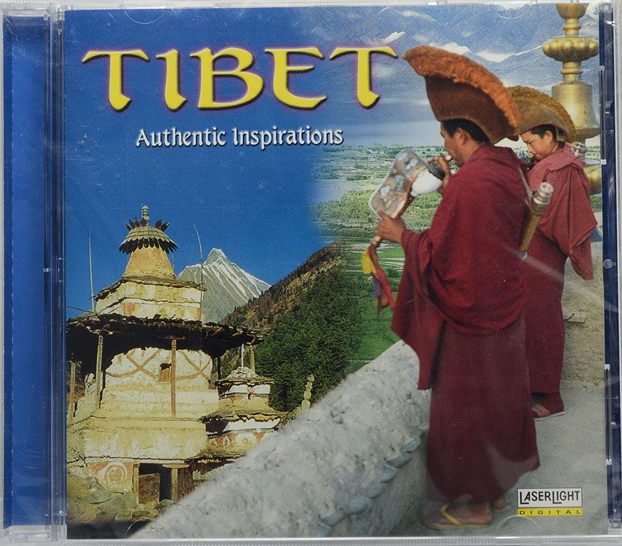 CD Tibet - Authentic Inspirations - Lacrado - Importado