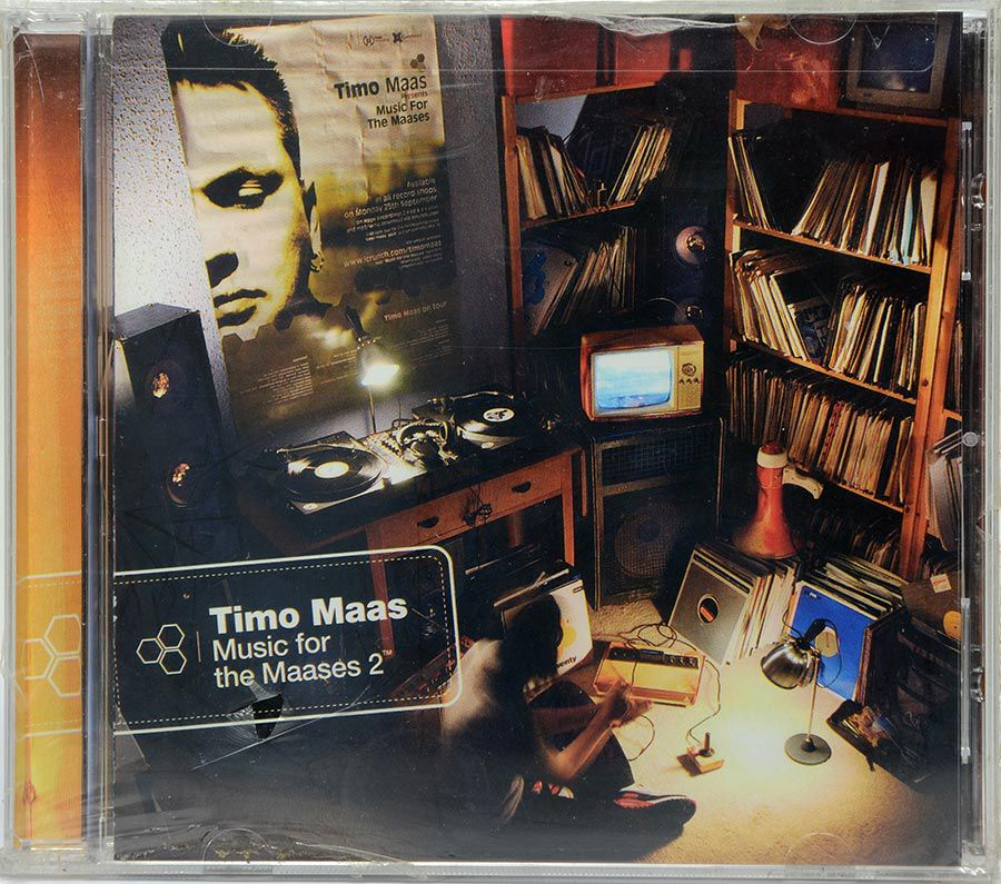 CD Timo Maas - Music For The Maases 2 - Lacrado - Importado