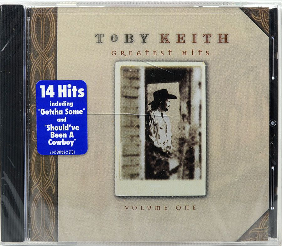CD Toby Keith - Greatest Hits Volume One - Lacrado - Importado