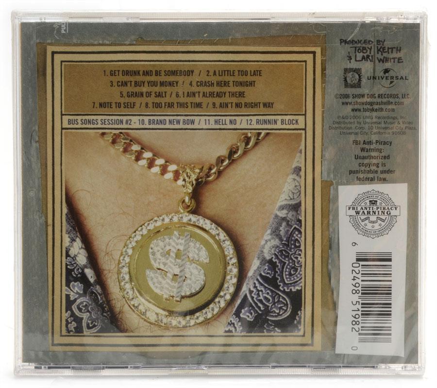 CD Toby Keith - White Trash With Money - Importado - Lacrado