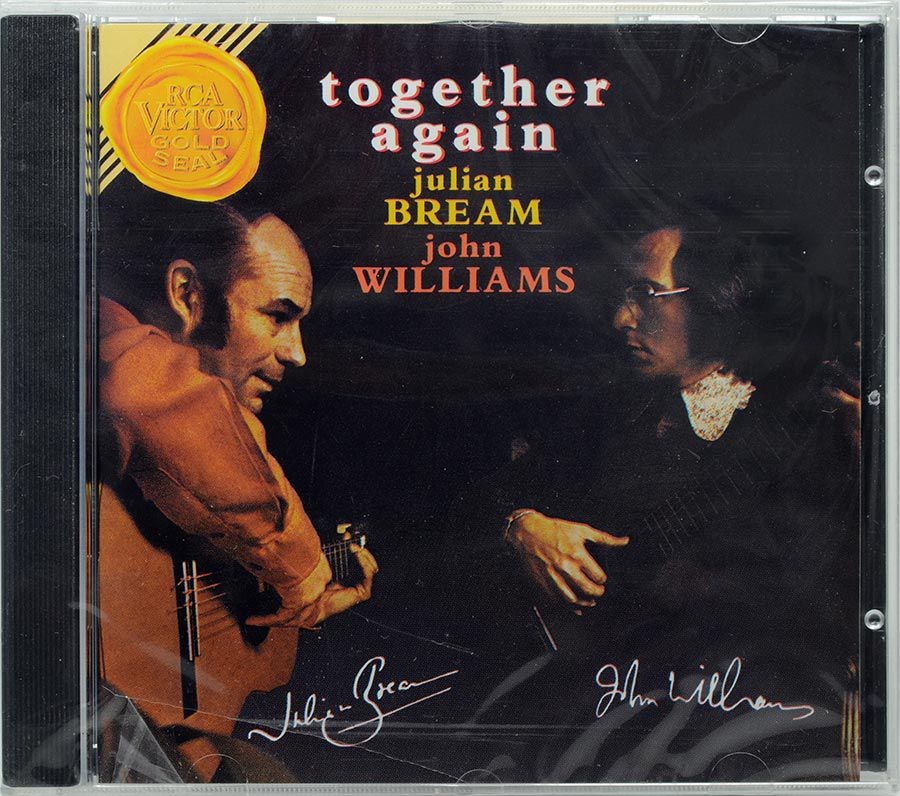 CD Together Again - Julian Bream & John Williams - Lacrado - Importado