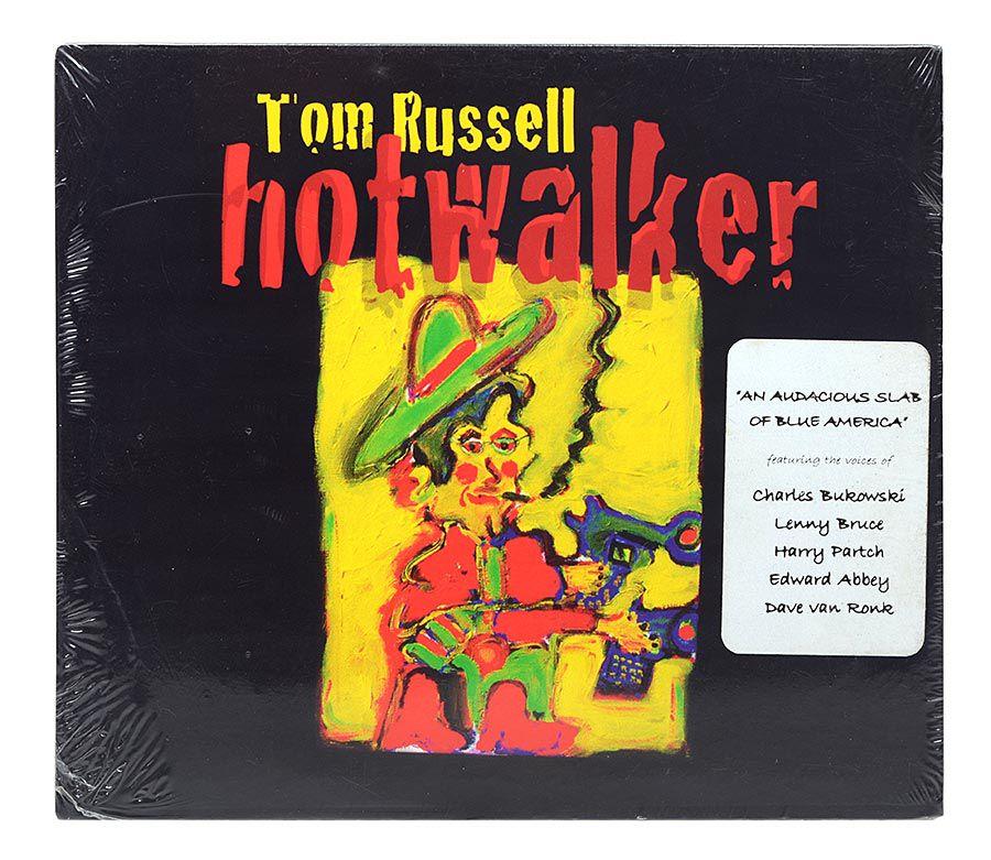 CD Tom Russell - Hotwalker - Importado - Lacrado