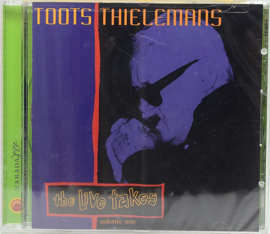 Cd Toots Thielemans - The Live Takes - Lacrado - Importado