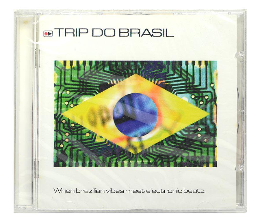Cd Trip do Brasil - When Brazilian Vibes Meet Electronic Beatz - Importado - Lacrado