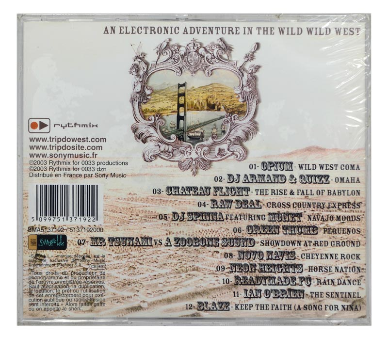 CD Trip Do West - An Electronic Adventure In The Wild Wild West - Importado - Lacrado