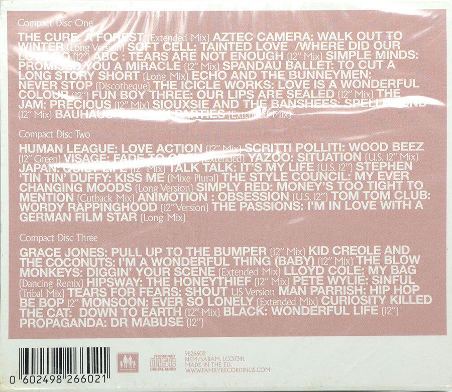 """Cd Triplo 12""""/80S Vários Artistas - Lacrado - Importado"""